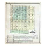 1871, Davis, Illinois, United States Giclee Print
