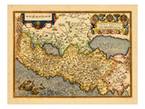 1598, Israel, Jordania, Palestinian Territories Giclee Print