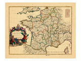 1721, France Giclee Print