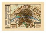 1705, Paris, France Reproduction procédé giclée