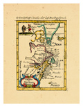 1684, Canada, Newfoundland Giclee Print