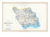 1893, Middlesex County - South Part, Connecticut, United States Giclee Print