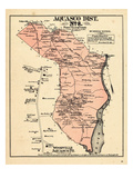 1878, Prince George County - District 8 - Aquasco, Horse Head, Woodville, Cedarville Giclee Print