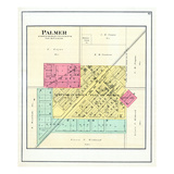 1891, Palmer, Illinois, United States Giclee Print