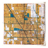 1925, Royal Oak Township, Hazel Park, Pleasant Ridge, Ferndale, Clawson, Berkley, Michigan, United Giclee Print