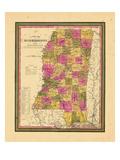 1846, Mississippi, United States Giclee Print