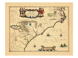 1644, Florida, Virginia Giclee Print