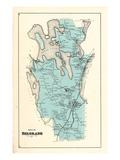 1879, Belgrade, Maine, United States Giclee Print