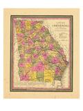 1846, Georgia, United States Giclee Print