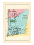 1879, Augusta 4, Maine, United States Giclee Print