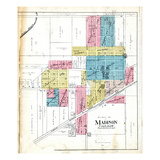 1917, Madison, Missouri, United States Giclee Print