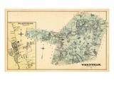 1876, Wrentham, Plainville Town, Massachusetts, United States Giclee Print