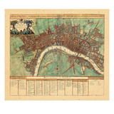 1720, London, United Kingdom Gicléetryck