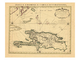 1722, Dominican Republic, Haiti Giclee Print