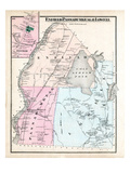 1875, Enfield, Passadumkeag, Lowell, Maine, United States Giclee Print