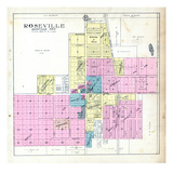 1912, Roseville, Illinois, United States Giclee Print