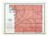 1912, Tyrone Township, East Henderson, Prairie Creek, Minnesota, United States Giclee Print