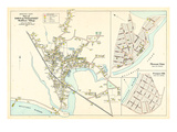 1905, Wellfleet Town - Wellfleet Village, Pleasant Point, Prospect Hill, Massachusetts, United Stat Giclee Print