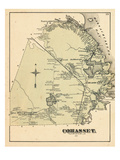 1876, Cohasset, Massachusetts, United States Giclee Print