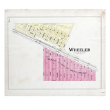 1895, Wheeler, Indiana, United States Giclee Print