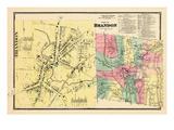 1869, Brandon, Brandon Town, Vermont, United States Giclee Print