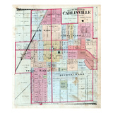 1875, Carlinville City, Illinois, United States Giclee Print