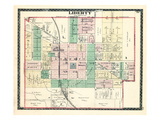 1884, Liberty, Indiana, United States Giclee Print