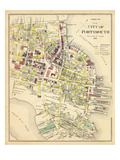 1892, Portsmouth 1, New Hampshire, United States Giclee Print