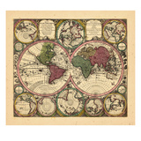 1734, World Giclee Print
