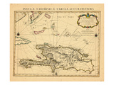 1722, Dominican Republic, HaitiHaiti Giclee Print
