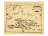 1722, Dominican Republic, HaitiHaiti Giclee Print