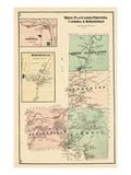 1875, Drew Platation, Prentiss, Carroll, Springfield, Maine, United States Giclee Print