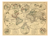 1690, World Giclee Print