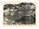 1893, Aspen Bird's Eye View, Colorado, United States Giclee Print