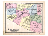 1871, Franklin, Vermont, United States Giclee Print