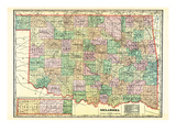 1907, State, Oklahoma, United States Giclee Print