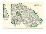 1893, Fairfield County - North Part, Sherman, New Fairfield North, Connecticut, United States Giclee Print