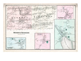 1875, Dixmont, Newburgh, Plymouth, Maine, United States Giclee Print