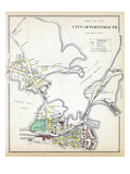 1892, Portsmouth 3, New Hampshire, United States Giclee Print