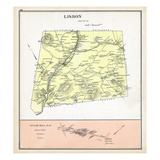 1892, Lisbon, Sugar Hill, New Hampshire, United States Giclee Print