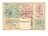 1875, Dexter, Garland, Levant, Upper Stillwater, Maine, United States Giclee Print