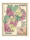 1869, St. George, Williston, Williston North, Vermont, United States Giclee Print