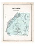 1875, Greenbush, Maine, United States Giclee Print