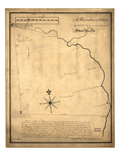 1736, New London Lands sequestered for Mohegan Indian tribe, Connecticut, United States Giclee Print