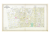 1892, Manchester - Wards 2 3 4A, New Hampshire, United States Giclee Print