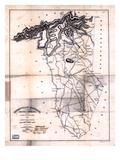 1825, Greenville District surveyed 1820, South Carolina, United States Giclee Print