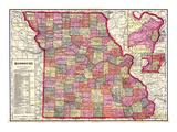 1909, Missouri, Missouri, United States Giclee Print