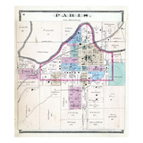 1876, Paris, Missouri, United States Giclee Print