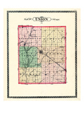 1884, Union County, Indiana, United States Giclee Print