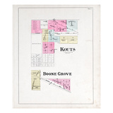 1895, Kouts, Boone Grove, Indiana, United States Giclee Print